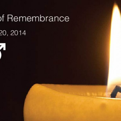 Transgender Day Of Remembrance 2014