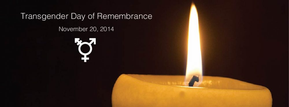 Transgender Day Of Remembrance 2014